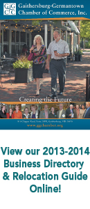Gaithersburg-Germantown 2013/14 Business Directory & Relocation Guide