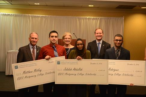 Students Received Scholarships- Chamber of Commerce Montgomery County MD