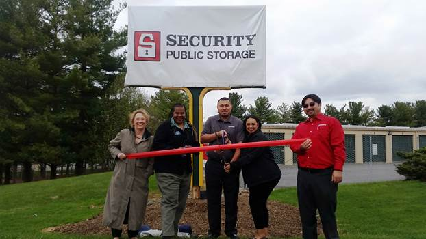 Security Public Storage Ribbon Cutting- Business Development Montgomery County MD